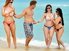Charlee Chase & Holly Halston & Sara Jay & Levi Cash in Seduced by a Cougar  - HDZog.com