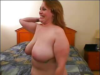 Big Titted BBW Milf Vanessa's Big Ass Analed