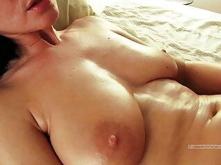 Mature with hairy pussy and big breasts orgasms